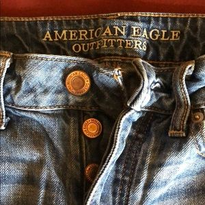 Distressed American eagle skinny jeans!
